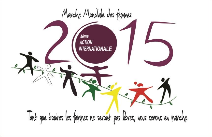 Bilan de la 4ème action internationale de la Marche Mondiale desFemmes