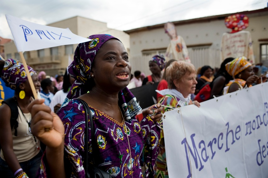 Marche Mondiale des Femmes 2010 - World March of Women 2010