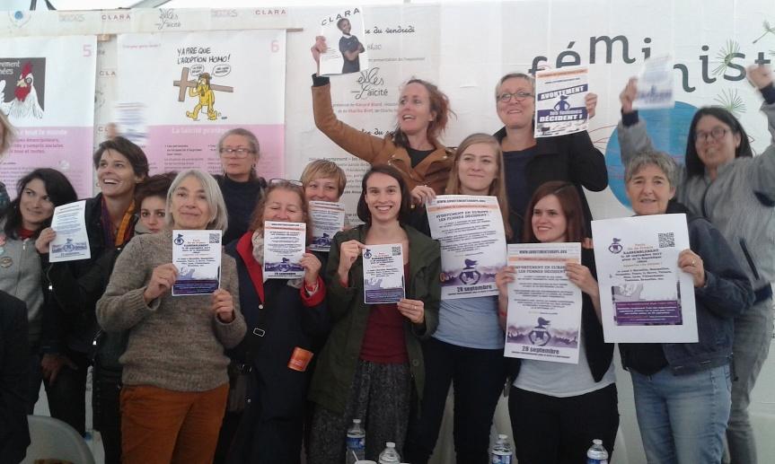 Débat Femmes Solidaires - Fête Huma