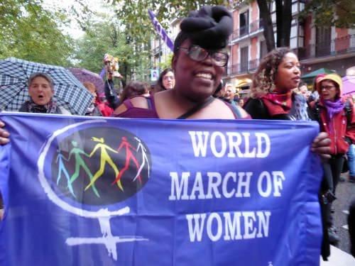 """Mobilisées le 8 mars  """"Nous résistons pour vivre, nous marchons pour transformer!»"""