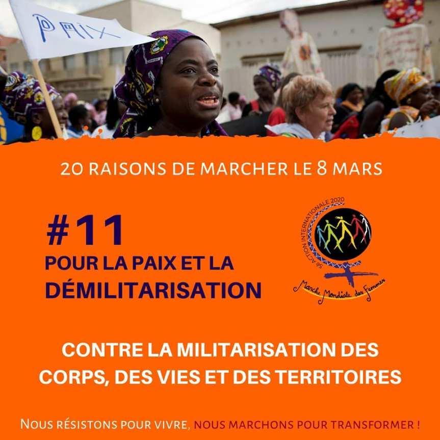 Raison 11 - Paix et Démilitarisation