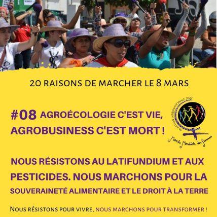 Raison 8 - Pour l'agro-écologie