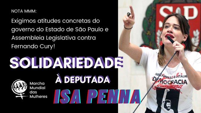 Brésil : Solidarité avec la députée IsaPenna