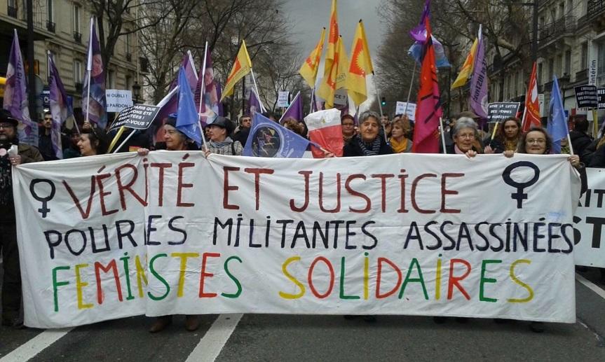 le 29 janvier, vérité et justice pour Sakine, Fedan etLeyla